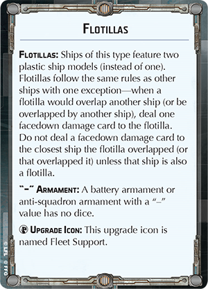 Flotillas Reference Card