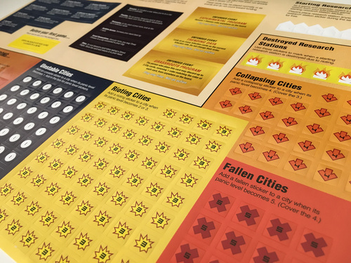 Pandemic Legacy stickers